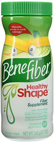 Benefiber Healthy Shape Fiber Supplement Powder 8.70 oz (Pack of 2)