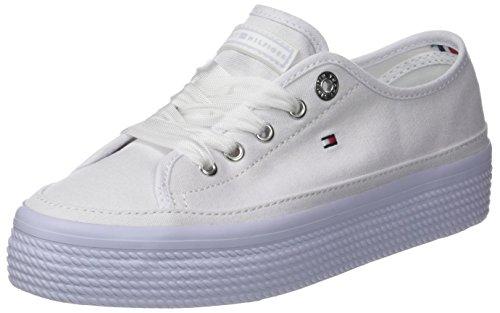 Femme Bleu Sneakers halogen Tommy Sneaker Flatform Pastel 425 Basses Hilfiger Blue n1wYxUqT