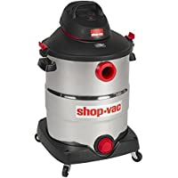 Shop-Vac 5989600 16 gallon 6.5 Peak HP Stainless Wet Dry Vacuum, Black