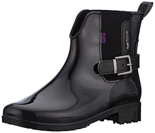 Tom Tailor Women's 3792302 Boots Schwarz (Black) asxSkXYY