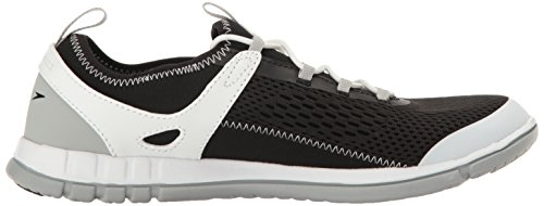 Speedo Womens The Wake Athletic Water Shoe Black/White 5B9LO0CGjl