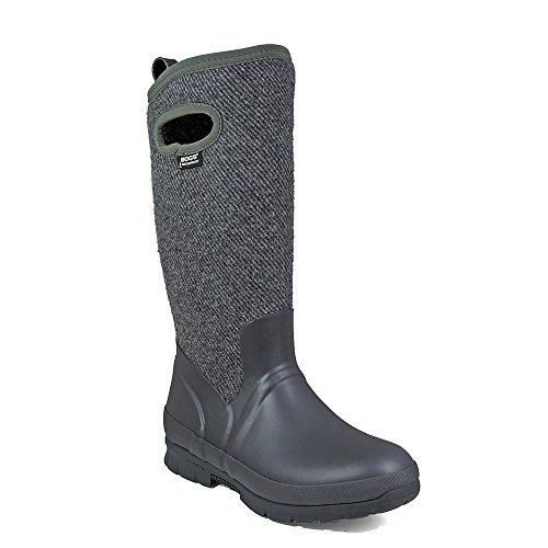 Womens Tall Bogs Wool Crandall Wellies Grey Dark CRHvqTtnw