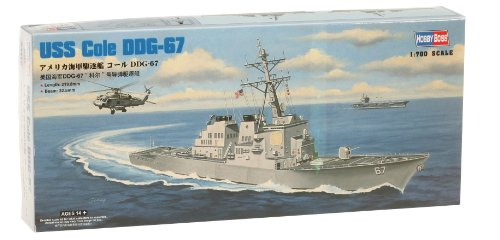 Navy Destroyer Ship (Hobby Boss USS Cole DDG-67 Boat Model Building Kit)