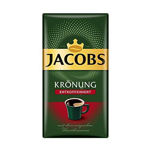 Jacobs Kronung Entkoffeiniert Decaf Ground Filter Coffee 500 Gram / 17.6 Ounce