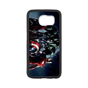 Iron Man Samsung Galaxy S6 Cell Phone Case White NRI5041750