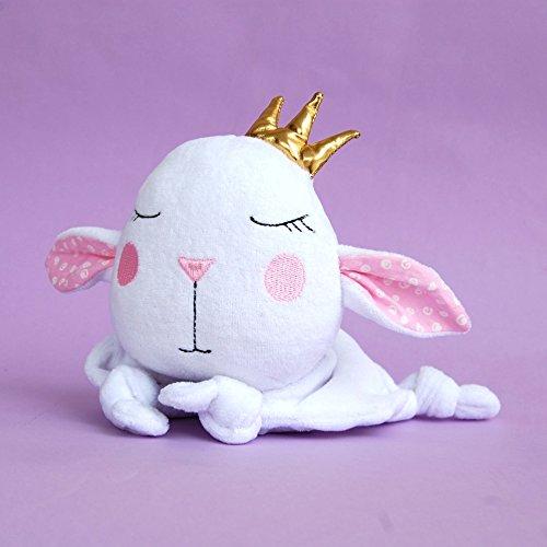 Mini Blanket Lamb Baby Sheep Lovey Lovie Blankie by RomeoShop