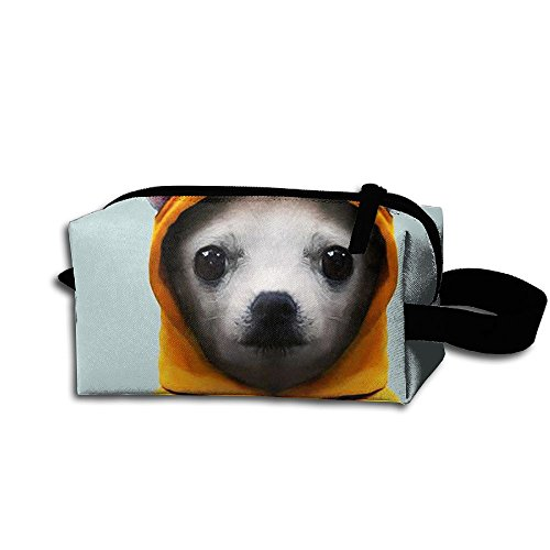 Chihuahua In Hoodie Unisex Portable Hanging Storage Bag Toil