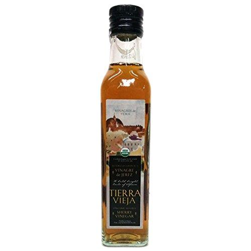 Tierra Vieja Organic Vinegar de Jerez Sherry Vinegar Reserve, 8.47 fl. oz