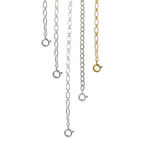 Sterling Silver Necklace Extender Chain - Ruler Sterling Silver