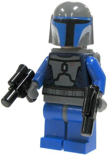 Sale LEGO Star Wars Figure Packs – Minifigure Mandalorian with Double Blaster – x1 Loose