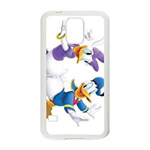Samsung Galaxy S5 Cell Phone Case White House of Mouse Character April Duck wkga