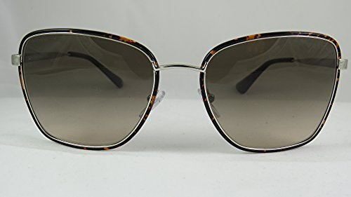 8759ff9c22079 ... discount prada womens pr 52ss sunglasses dark havana silver light brown  grad light grey 58mm c4ce3