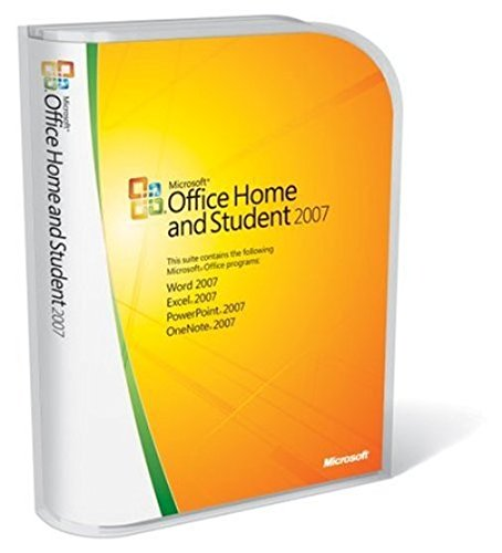 (Microsoft Office Home and Student 2007 [Old Version])