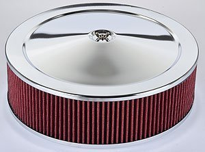 JEGS 50006 Air Cleaner with Smooth Top