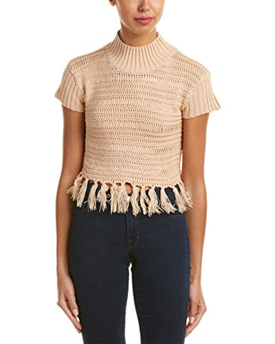 Somedays Lovin Womens High Hopes Knit Top, M, Pink