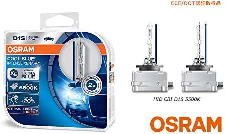 2 X Duo Box D1s Osram Xenarc Cool Blue Intense 5500 K 66140cbi Hcb Pk32d 2 Xenon 35 W Auto