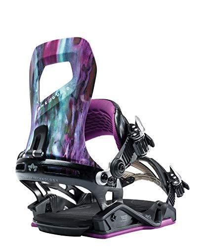 Snowboard Bindings Sand - Rome Snowboards Guild Snowboard Bindings - Women's, Purple Reign, Medium/Large