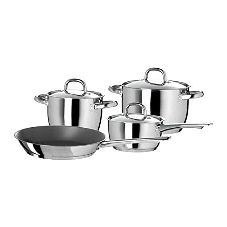 IKEA - IKEA 365+ 7-piece cookware set, stainless steel Pot & Pan Sets at amazon