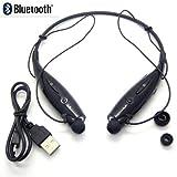 Aobbi™Wireless Bluetooth Sport V4.0 Lightweight Stereo Sports Headset In-Ear Headphone Earphone for Smartphones (Black)