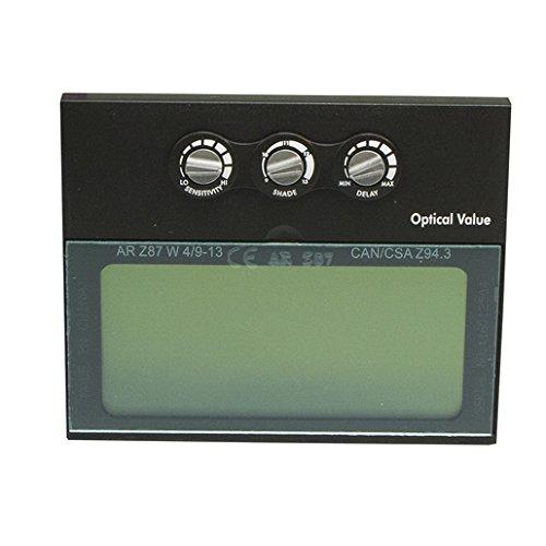 Radnor 64005180 Variable Tonos 4, 9 – 13 Auto oscurecimiento lente de repuesto para uso con Lite casco de soldadura,...