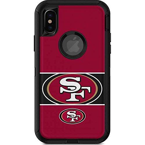 943328ee574 Skinit NFL San Francisco 49ers OtterBox Defender iPhone X Skin - San  Francisco 49ers Zone Block