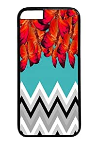 butterfly and chr PC Case Cover for iPhone 6 and iphone 6 4.7 inch Black