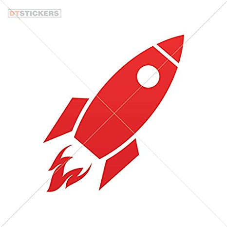Rocket decal toy decal spaceship decal