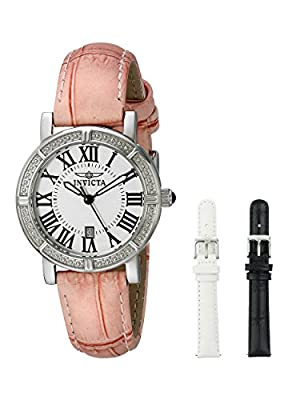 Invicta Women's 13967 Wildflower Stainless Steel Watch with Interchangable Straps from Invicta
