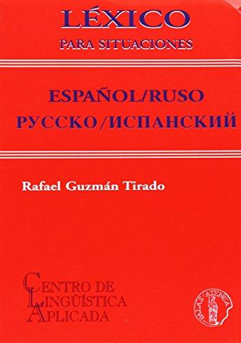 Descargar Libro Lexico Para Situaciones Español/rumano - Roman/spaniol Ana Maria Diaconescu