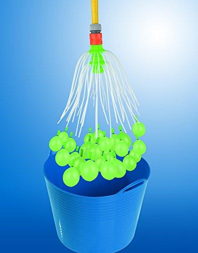 EASYmaxx Wasserballonfabrik Basisset 220 Ballons 8-tlg. in Grün/Gelb mit Nachfüllset