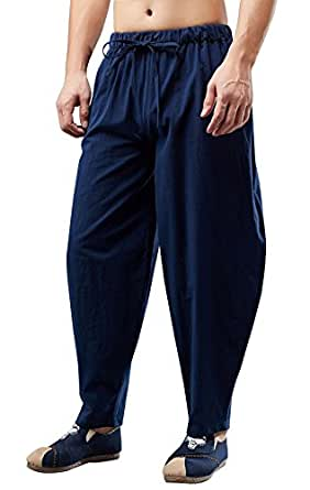 Pantalones Harem Cagados Etnicos Yoga Thai unisex cuatro tallas d4dd785feab1