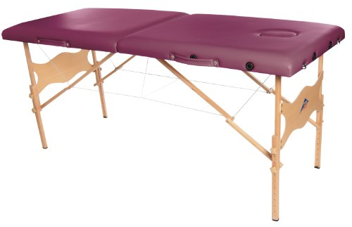 3B Scientific W60601BG-1 Wood Basic Portable Massage Tabl...
