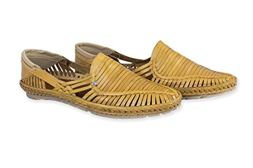 Desi Hangover Genuine Premium Leather Handmade Mens Casual Shoes Slip-on Loafers Rey Natural Shoe