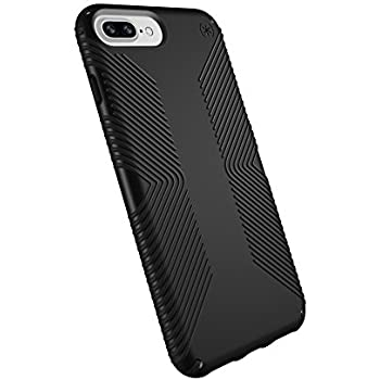 quality design e6a9f d64e7 Speck Products Phone Case Compatible with Apple iPhone 8 Plus /7 Plus/6S  Plus/6 Plus, Presidio Grip Case, Black/Black
