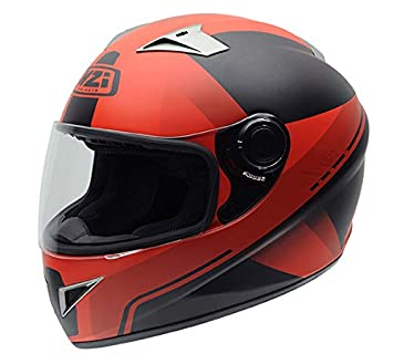NZI Vital Casco Graphics X Vit Fluo Red, X VIT FLUO RED, Talla XXS