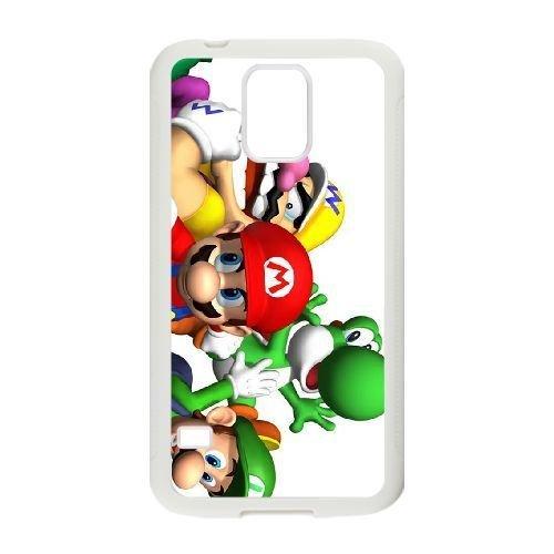 Samsung Galaxy S5 phone case White Game boy Super Mario Bros JJUL8969664