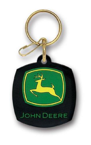 : Plasticolor 4092 John Deere Logo Key Chain