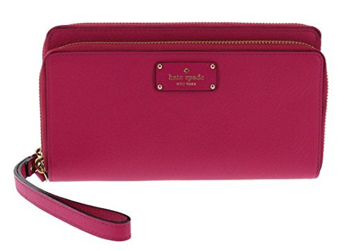 Kate Spade New York Grove Street Anita Wristlet Handbag Clutch Purse Wallet (Sweetheart Pink) by Kate Spade New York
