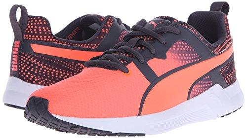 889178805378 - PUMA Women's Pulse XT Graphic 2 Running Sneaker, Fluorescent Peach/Periscope, 9 B US carousel main 5