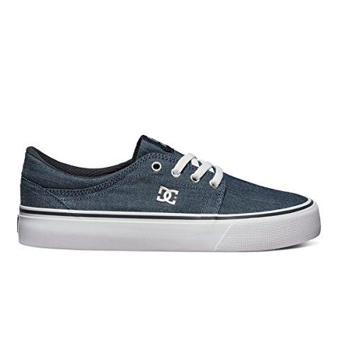 Dark Dc Trase Denim Donna Tx Fashion Sneakers Shoes Se bianco A0xxBwOfq