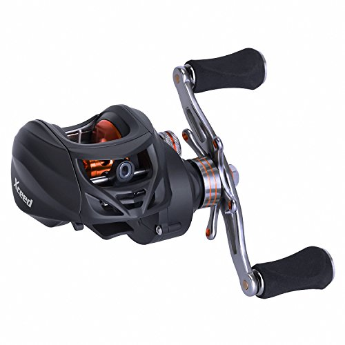 Goture Ares-Max Baitcasting Fishing Reel 22LB Carbon Fiber Drag, 6.3 1 Low Profile Baitcaster Reel Magnetic Brake System10 1 Shielded Bearings