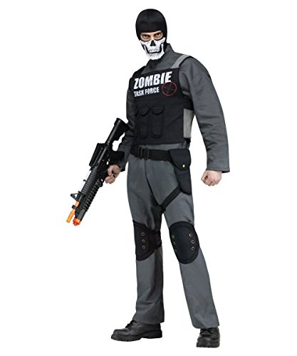 Zombie Task Force Mens (Army Zombie Costumes)