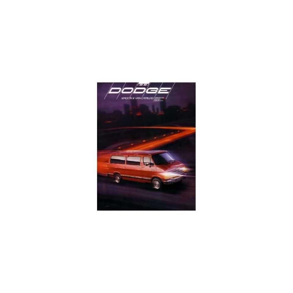 1991 Dodge Wagon Van Sales Brochure Literature Book Advertisement Options Specs