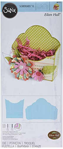 Sizzix ScoreBoards XL Die, Flower Pocket by Eileen Hull