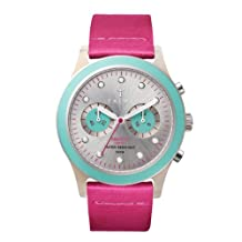 Triwa Womens DCAC113 Flamingo Brasco Chrono Turquoise/Pink Watch