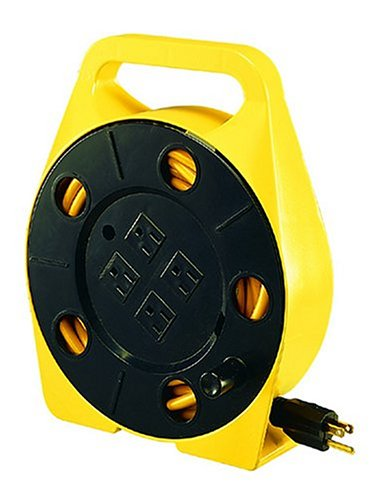 Bayco SL-755 25-Foot Cord Reel with 4 Outlets