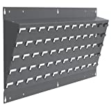 Akro-Mils 30637A Powder Coated Steel Louvered Lean Wall Mounted Panel for Plastic Hanging Bins