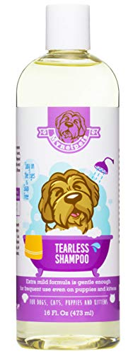 (Mynetpets Tearless Dog Shampoo - Soap Free Formula Dog Wash Mild, Gentle On The Eyes Dog Shampoo for Smelly Dogs - Also an Ideal Puppy Shampoo )