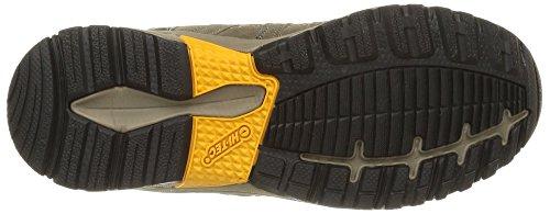 Hi-Tec Alto II Mid WP - botas de senderismo de cuero hombre Marrón - Marron (Smokey Brown/Taupe/Gold)