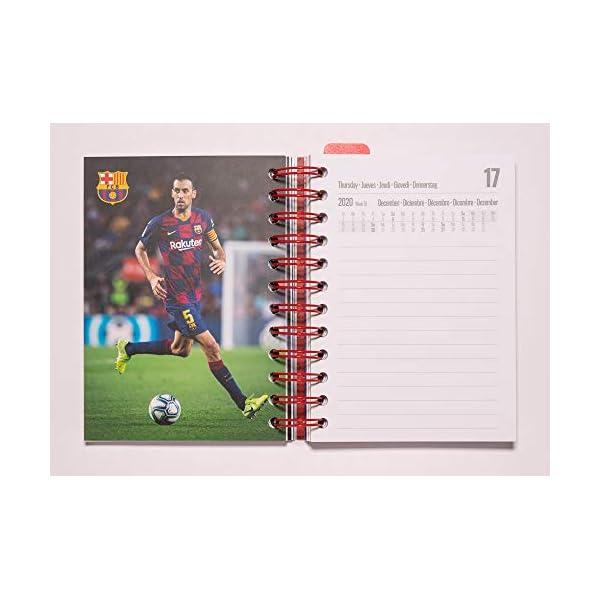 Diario Scuola Giornaliero 2020/2021, 11 mesi, 11,4x16 cm - FC Barcelona 3 spesavip